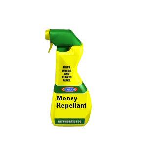 money repellant